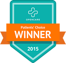 winner of the 2015 Patients' Choice Awards